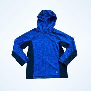 XERSION Boys Blue Lightweight Athletic Hoodie L 6